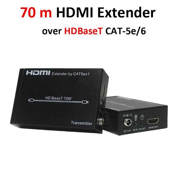 Удлинитель Prowall HDMI Extender over HDBaseT CAT-5e/6