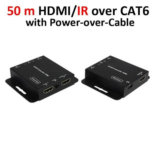 Удлинитель Prowall HDMI/IR over single Cat6 with Power-over-Cable